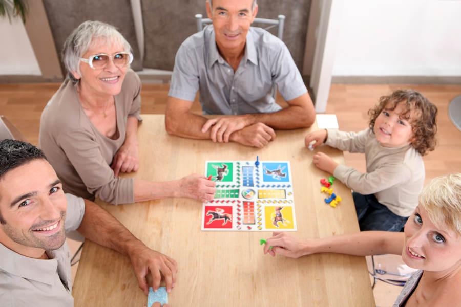 Brettspill er samlende